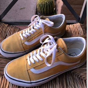 Vans Old School Yellow (Ocre/True White)
